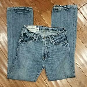 Boys size 12 Slim Abercrombie Jeans